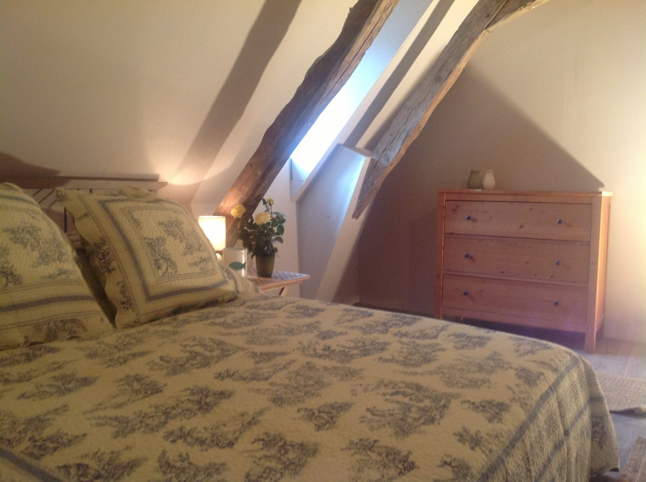 Le Fenil Attic Bedroom